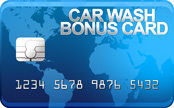 Bonus Card exterior CAR WASH